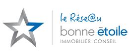 Devenez mandataire immobilier avec Bonne Etoile Immobilier Conseil. Logo